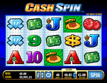 Cash Spin – Game Play