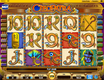 Cleopatra Slot – Gameplay