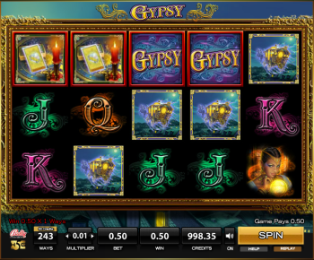 Gypsy Slot – Game Play 2