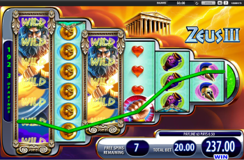 Zeus 3 Slot – Free Spins Win