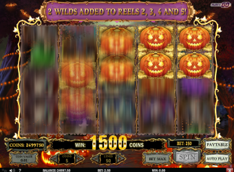 Happy Halloween Slot – Free Spins 1