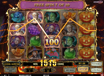 Happy Halloween Slot – Free Spins 2