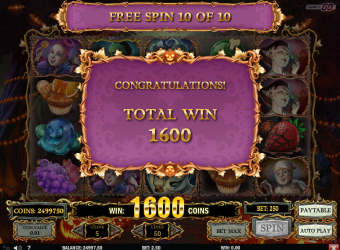 Happy Halloween Slot – Free Spins Win