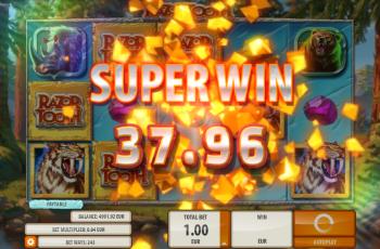 Razortooth Slot Machine – Random Wild Win