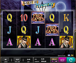Play A Night of Mystery Slot