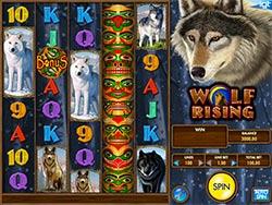 Play Wolf Rising Slot Machine Free