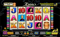 Free Zorro Slot