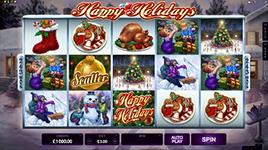 Play Happy Holidays Slot