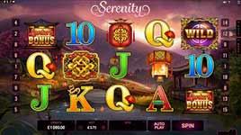 Play Serenity Slot Online