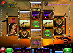 Play Legends of Africa Slot