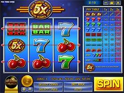 5x Wins Slot