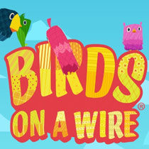 Birds on a Wire Mobile