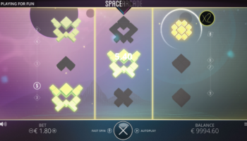 Space Arcade Slot – Multiplier Up Feature