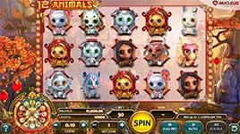 12 Animals Slot Machine