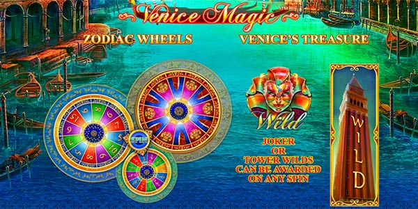 Image result for Venice Magic casino games